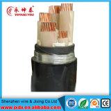 Cable eléctrico/eléctrico de XLPE subterráneo de alambre de cobre