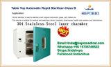autoclave inoxidable superior de la Esterilizador-Clase B del Rapid 304 automáticos de vector 100L