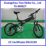 de Volledige Opschorting MiniEbike van de Motor van 20 '' 250W Bafun met Verwijderbare Batterij die Vouwbaar/Elektrische Fiets vouwen