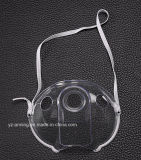 Устранимая маска Nebulizer PVC медицинская с трубопроводом кислорода