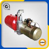 Unidade da energia hidráulica do reboque da descarga, 12V dobro que actua, OEM do tanque do metal 6L