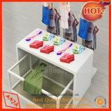 Table d'affichage de vêtements d'affichage en MDF