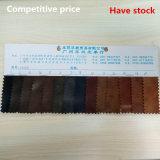 Synthetisches Leder für die Schuhe, die Aktien mit konkurrenzfähigem Preis (HS213, haben)