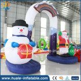 Arcada inflable de la decoración inflable de la Navidad de la alta calidad para la venta