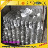 Perfil de aluminio del marco con profundamente el proceso para el CNC de la decoración de los muebles