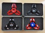 Zinc Aluminio Spiderman Superman Fidget Spinner Mano Dedo Finger Spinner