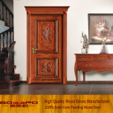 실내 나무로 되는 문 (GSP2-072)를 새기는 중국 작풍 사치품
