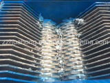 China-Fabrik-Preis-Plastikzerquetschenreißwolf-Maschine, verwendeter überschüssiger Reifen, der Maschinen-Preisliste aufbereitet