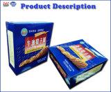Коробка упаковывая, продукты печений бумаги печатание продуктов Китая изготовленный на заказ складывая бумажной коробки печений самые лучшие, коробка подарка бумажная