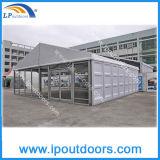 Barraca modular do famoso do armazenamento do frame de alumínio do PVC com parede do ABS