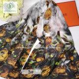 2017 de Nieuwe Manier van de Sjaals van het Ontwerp Digitale Afgedrukte Dame Silk Scarf