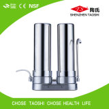 2つの段階のデスクトップのステンレス鋼のホーム水清浄器