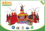 Monkey King Jumping Amusement Ride Playground Equipamiento para la venta