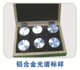 Спектрометр оптически излучения ритмоводителя для анализа металла