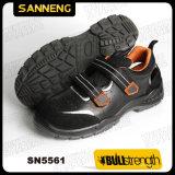 サンダルの鋼鉄つま先の帽子(SN5561)が付いている革安全靴