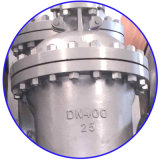 DIN3352 de Van een flens voorzien Klep van het roestvrij staal Poort