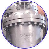 A porta do aço DIN3352 inoxidável flangeou válvula