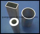 태양 선반 6005 T5를 위한 알루미늄에 의하여 양극 처리되는 단면도 배관