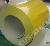 Zincalum Prepainted 강철 코일 또는 명반 아연 색깔 강철판