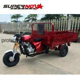 Triciclo de transporte de caixa de recipiente grande