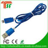Горячие продажи 100% QC Pass Нейлон Плетеный Быстрый заряд USB кабель для Apple iPhone 5 6 7
