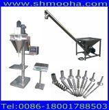 Halb automatische Talkum-Puder-Füllmaschine für Flaschen, Beutel, Dosen, Behälter