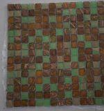 Tegel van de Decoratie van het Mozaïek van de Kunst van het Glas van het Lichaam van de Smelting van de manier de Hete Volledige
