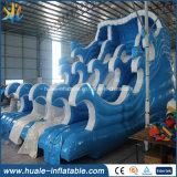 Diapositiva de agua inflable gigante de la venta caliente diapositiva mojada y seca de /Outdoor/diapositiva emocionante para el parque de atracciones