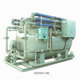 Tratamento de água de esgoto marinho da unidade do tratamento de água de esgoto