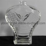 красивейшая стеклянная бутылка дух 100ml, косметическая стеклянная бутылка