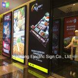 24X48 인치 액자 전시를 광고하는 대중음식점 간이 식품을%s Backlit LED 메뉴 널