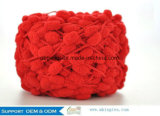 POM POM Fancy Yarn Knit Crochet Mat Scarf