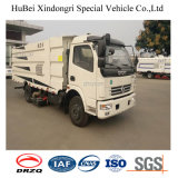 2ton Dongfengの真空の道の塵の吸引の洗剤のトラック