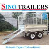 중국 2016 최신 판매에 의하여 도망되는 트럭 트레일러