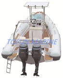 Hypalon aufblasbares Rippen-Boot (RIB760)