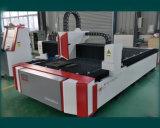 machine de découpage de laser de fibre de la commande numérique par ordinateur 1500W pour les feuillards (FLS3015-1500W)