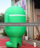 Fumetto Android gonfiabile del robot dell'antenna da vendere