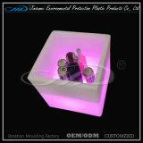 맥주 저장 바를 위한 플라스틱 입방체 LED 콘테이너