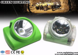 13000lux OLED Discreen Sicherheits-nachladbare drahtlose Bergmann-Mützenlampe