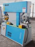 Q35y hydraulisches Loch-lochende Maschine mit doppeltem Kopf, Kanal-Stahlausschnitt-Maschine