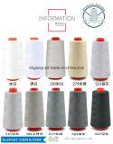 De kern Gesponnen Naaiende Draad van de Polyester in Uitstekende kwaliteit