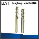 Edvt CNC 기계를 위한 고속 등경 나선 드릴용 날