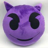 Het Hoofdkussen van Emoji van de Pluche van de Stof van de polyester