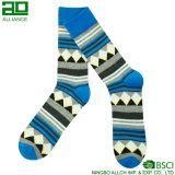 Lange Mannschafts-kundenspezifische Baumwollgroßverkauf-Socken