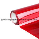 Lámina para gofrar caliente de la superficie adhesiva del oro