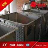 Los tanques de almacenaje del vino rojo, envase del acero inoxidable para el vino rojo que fermenta y almacenaje