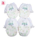 Preiswertes Feld gedruckte reizendes Kaninchen-Muster-weiche Baby-frei jugendlich Windel-Proben