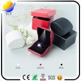 Горячая коробка ювелирных изделий коробки СИД кольца предложения надувательства СИД светящая творческая