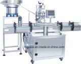 Linha de produção de rotulagem tampando de enchimento máquina do alimentador do automóvel do frasco da série