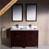 Fed-1072c China Badezimmer-Eitelkeits-festes Holz-Badezimmer-Schrank